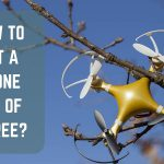How to get a drone out of a tree